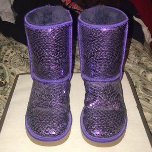 UGG Shoes - Purple Sequin Uggs ✨✨✨